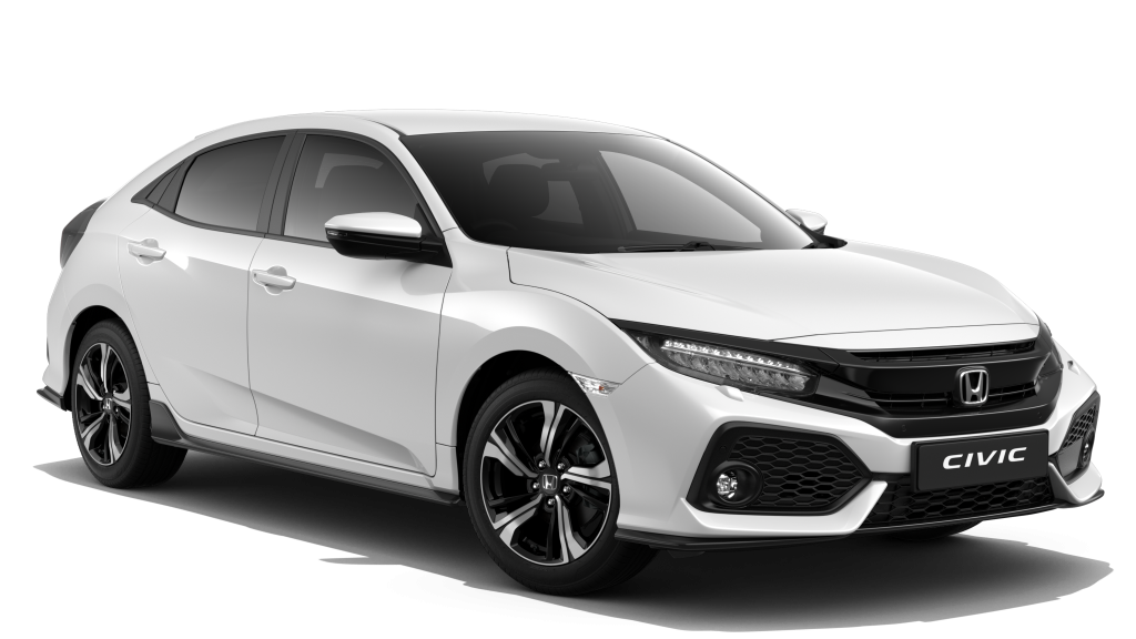CIVIC SPORT 182PS VTEC TURBO WHITE ORCHID PEARL